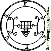 34. Seal of Furfur.