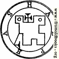 38. Seal of Halphas, or Malthus.