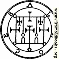 52. Seal of Alloces, or Alocas.