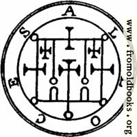 52. Seal of Alloces, or Alocas.