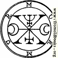 54. Seal of Murmur, Murmus, or Murmux.