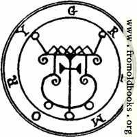 56. Seal of Gremory, or Gamori.