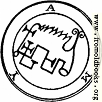 58. Seal of Amy, or Avnas.