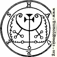 64. Seal of Haures, or Hauras, or Havres, or Flauros.