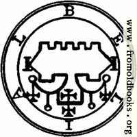 68. Seal of Belial.