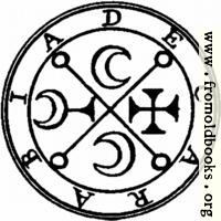 69. Seal of Decarabia.