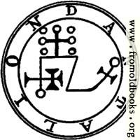 71. Seal of Dantalion.