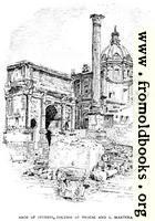 p. 161. Arch of Severus, Column of Phocas and S. Martina