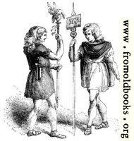 96.—Roman Standard Bearers.