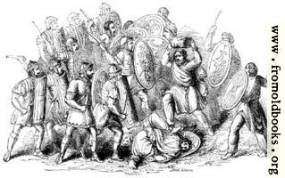 114.—Conflict between Romans and Barbarians.
