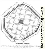 125.—Silchester.  Plan of City.