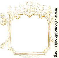 245 [detail].—Rectangular ornate sketched frame or border