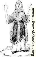 286.—Costume of a Saxon Woman.