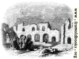 389.—Ruins of reading Abbey in 1721.