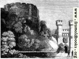 423.—Clifford's Tower, and Entrance to York Castle.