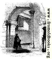 527.—The Western Entrance, Interior, St. Bartholomew's church.