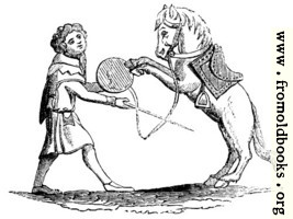 784.—Horse Beating a Tabor.