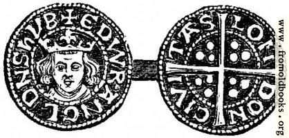 817.—Penny of Edward I.
