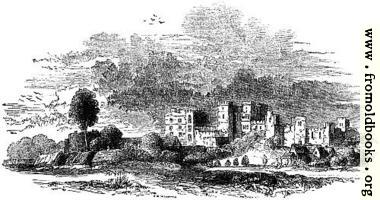 818.—Ruins of Kenilworth in the 17th Century.