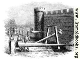 870.—Machines for Boring Holes in Castle Walls.