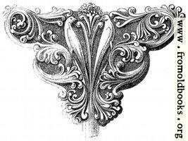933.—Early English Foliage Bracket.