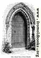 1046.—Stone Church, south door.