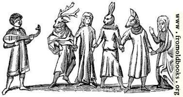 1143.—Mummers (Bodleian MS.)