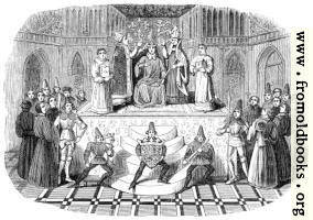 Coronation of Henry IV (Harleian MS. No, 4679)
