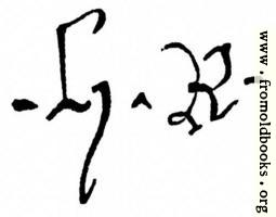 1154.—Signature of Henry IV.