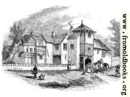 1672.—Hulme Hall, Lancashire.—Front View.