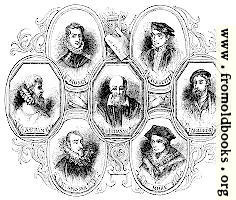 1737.—Portraits of Poets At the time of Shakespeare