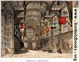 Wolsey's Hall at Hampton Court