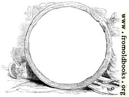 Circular Frame With Weapons