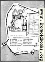 Plan of Kenilworth Castle