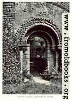 Ludlow Castle: Gate-way of Chapel