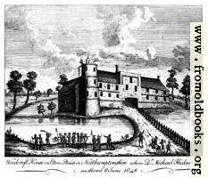 Woodcroft House in Etton Parish in Northamptonshire where Dr. Michael Hudson was murthered 6 June 1648