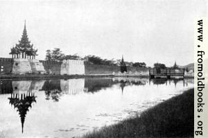 Fort Dufferin and the moat, Mandalay