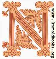 Fig. 99 No. 8.—Anglo-Saxon Initial letter N