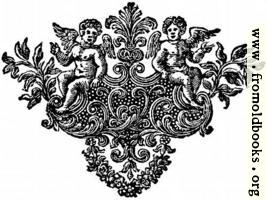Chapter end decoration: cherubs