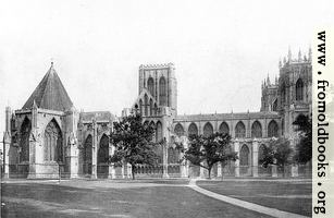 The Minster, North Side