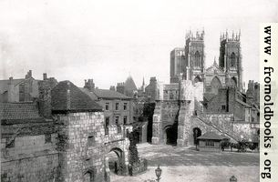 The Minster and Bootham Bar