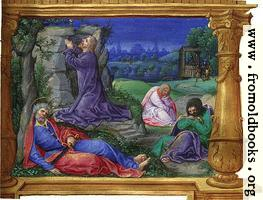 Miniature: Garden of Gethsemanu