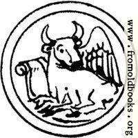 Symbol of St. Luke the Evangelist