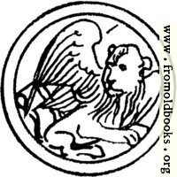 Symbol of St. Mark the Evangelist