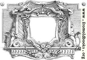 Blank Cartouche