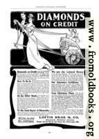 Old Advert: Diamonds on Credit