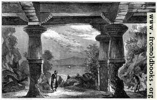 Entrance to the Cave of the Elephanta