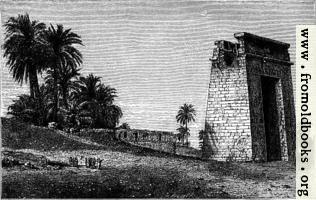 Gate at Karnak
