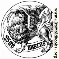 Badge of Saint Mark the Evangelist