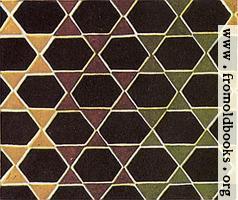 [Ancient] Greek Marble Mosaics 9: Hexagons